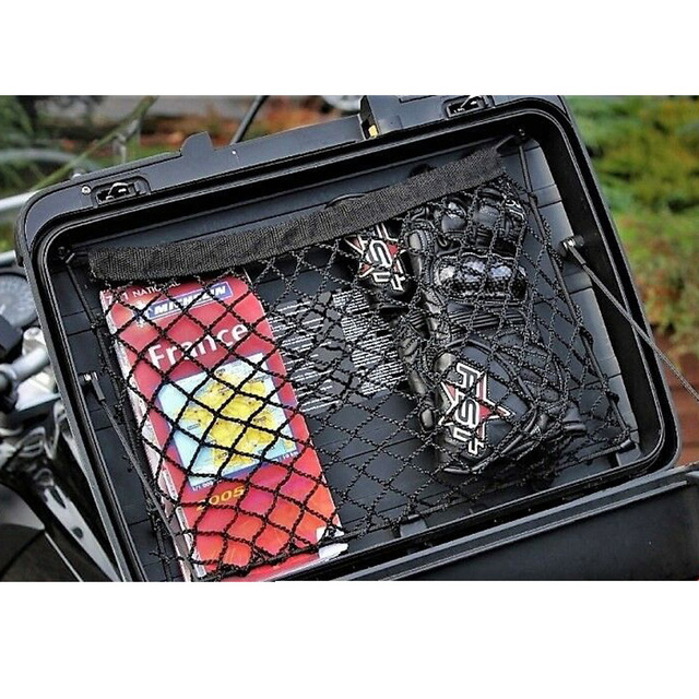 Luggage Storage Organizer Cargo Mesh net for Vario case panniers for BMW F650GS F700GS F750GS F800GS R850GS R1200GS R1250GS