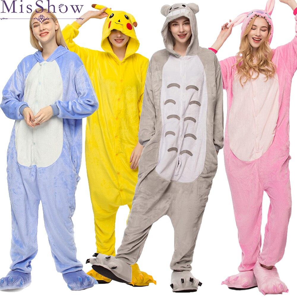 2019 Cheap Winter unicorn   Pajama     sets   Women   pajama   kigurumi onesies for adults Homewear Animal   Pajamas   Cartoon Cosplay Sleepwear