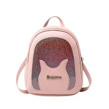 Women Backpack Mini Soft Leather Multi-Function Small BackpackS Female Ladies Shoulder Bag Girl Purse