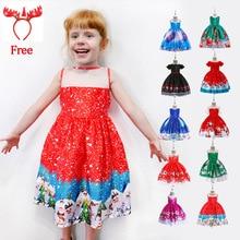 Baby Girl Silk Princess Dress For Wedding Party Kids Dresses For Toddler Girl Children Fashion Christmas Clothing 2-10 Years цена 2017