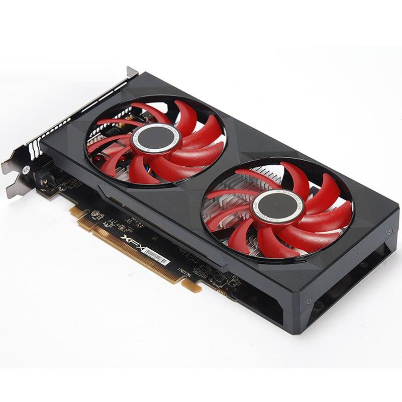 Видеокарта XFX RX 560 4 ГБ GDDR5 для AMD RX 500 серии VGA Видеокарта RX560-4GB RX560 RX564 4G HDMI DVI 7000 МГц PCI 3,0 б/у-3