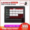Оригинальный Старт X431 V + 10 дюймовый планшет профессиональный автомобильный диагностический инструмент Автоматическое Сканирование Pad Авт...