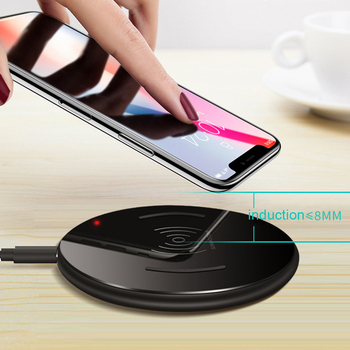 15W Fast QI Wireless Charger for iPhone 11 Pro X XR XS MAX 8 Plue Samsung S10 Plus S9 S8 Note 10 Smart phone Charge Charging Pad 1