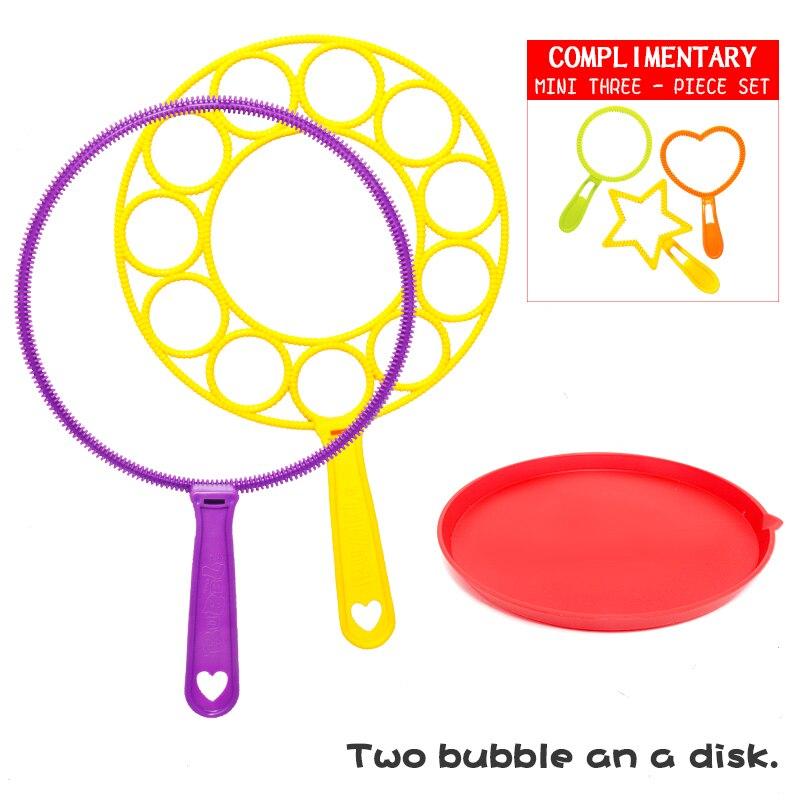 Máquina de Burbujas de jabón para niños, juguete de Burbujas de jabón para el aire libre