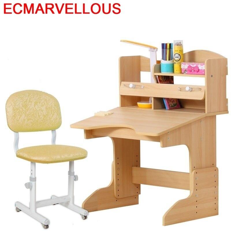 Kinder Tisch Furniture Pupitre Tavolino Bambini Infantil Estudo Tafel Estudiar Wood Escritorio Enfant Desk Mesa Kids Study Table