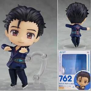 10 см YURI on ICE New 762 # Katsuki Yuri аниме, мультфильм, фигурка, ПВХ, игрушки, коллекция, фигурки для друзей, подарки
