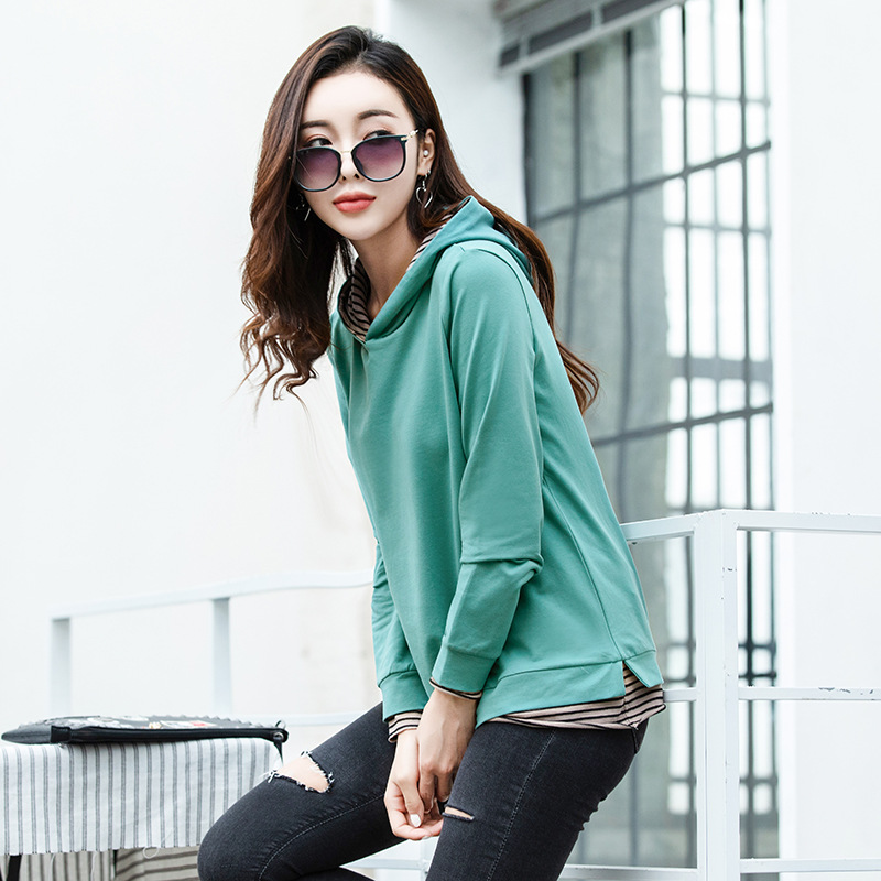 New Loose And Fashionable Wild Casual Long-sleeved Sweatshirt