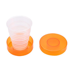 Mug Drinking-Cups Travel-Cup Folding Retractable Collapsible Food-Grade New PP 1 Random-Color