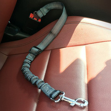 애완 동물 용품 자동차 안전 벨트 개 안전 벨트 개 가죽 끈 견인 벨트 쿠션 탄성 반사 안전 밧줄 견인 밧줄 개