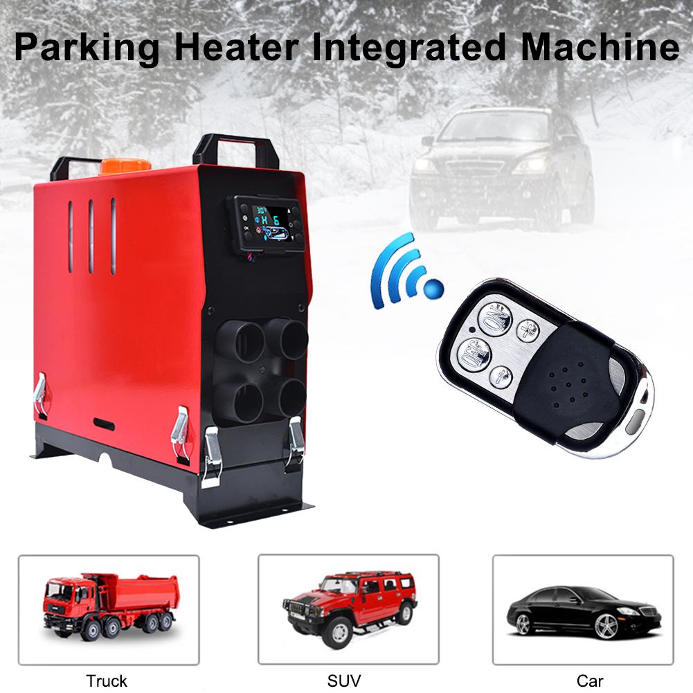 5000W Car Heater 12V/24V Air Diesels Heater Parking Heater Remote Control Fuel Air Heater For RV Motorhome Trailer Trucks Boats