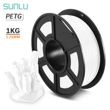 Наполнители для 3d принтера sunlu petg прозрачные 175 мм 1 кг