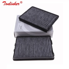 Cabin Filter 64110008138 2Pcs For Bmw E39 520d/520i/523i/525i/528i/530d 530i/535i td/540i/M5 1997 2004 Carbon Car Cabin Filter