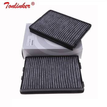 Cabin Filter 64110008138 2Pcs For Bmw E39 520d/520i/523i/525i/528i/530d 530i/535i td/540i/M5 1997-2004 Carbon Car Cabin Filter made in taiwan carbon fiber material m5 look front kidney grill grille for bmw 5 series f10 sedan 2010 520i 525i 530i 535i
