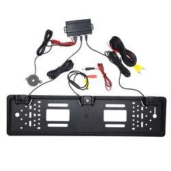Europa Auto Nummerplaat Frame Frame Achteruitkijk Camera Voor Auto Nummerplaat Houder Omkeren Radar Detector Kentekenplaat Camera