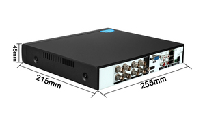 Image 2 - Uzaktan kumanda ses yüz algılama Hi3531D 8MP 4K Xmeye 8CH 8 kanal H.265 + hibrid koaksiyel WIFI 6 1 TVI CVI NVR AHD DVR