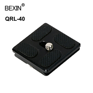 Image 3 - BexinカメラクイックリリースプレートPU40 50 60 70 1/4でbenroアルカスイス用一脚三脚ボールヘッドデジタル一眼レフカメラ