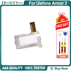 Image 2 - 100% 新オリジナル Ulefone 鎧 3 デュアル SIM カードトレイフレックスケーブル修理交換アクセサリー部品