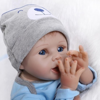 22 Original Reborn Doll Handmade Lifelike Baby Solid Silicone Dolls +Clothes Hot Selling Recommended