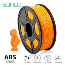 SUNLU ABS 3D Filament For 3D Printer And Children Drawing 3D Pen 1.75mm 1KG With Spool Plastic ABS Filament With Box Packing malloom 2016 luxury brand 1 75mm print filament abs modeling stereoscopic for 3d drawing printer pen sale items free shipping page 8