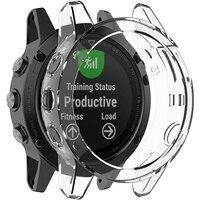 TPU Schutzhülle Abdeckung für Garmin Fenix 5 5S 5X Plus Schutz Abdeckung Shell Smart Uhr Armband Bunte Protector abdeckung