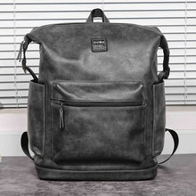 2019 new backpack Korean leisure simple atmosphere backpack computer bag student bag tide цена