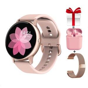 Женские Смарт-часы, мульти-спортивный режим, умные часы, артериальное давление, кислородный пульт, музыка для Samsung Huawei, часы VS DT88 SG2 S20 P8