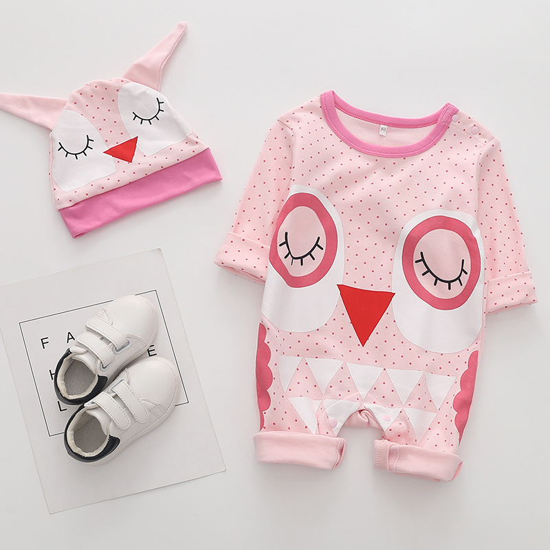 Autumn long sleeved tights original newborn baby onesies children clothes baby boy girls clothes suit body clothes 2019 new in Bodysuits from Mother Kids