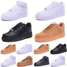 Chaussures de sport pour hommes et femmes, baskets de skateboard, classiques 1 utilitaire, noires Dunk, stylées