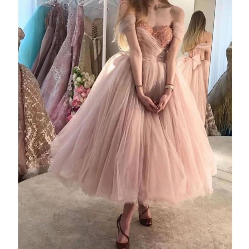 Short Muslim Evening Dresses Dubai Prom Dresses 2020 Formal Gala Dress