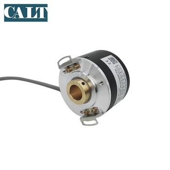 цена на GHH60 14 mm hollow shaft incremental pushpull opto rotary encoder 1000 1024 2000 2500 4096 5000 P/R
