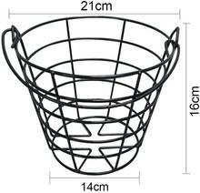 Металлический стандартный контейнер для мячей гольфа crestgolf