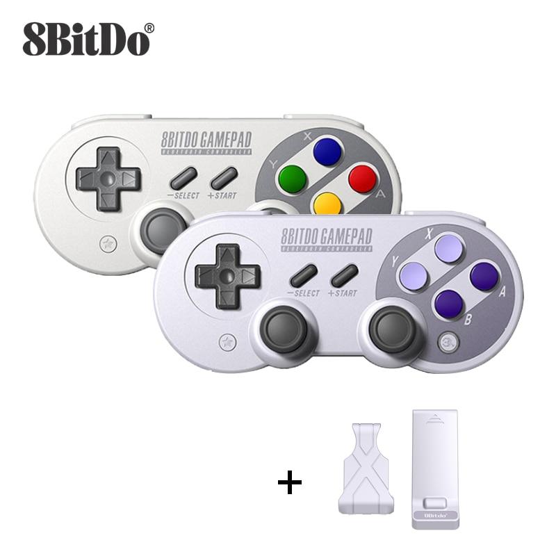 8bitdo SN30 Pro SF30 Pro Bluetooth Sans Fil Contrôleur De Jeu pour Nintendo Switch Manette de Jeu/MacOS/ Android/Framboise Pi/Fenêtres