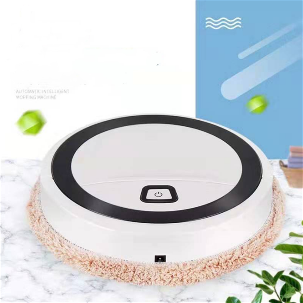New Auto Vacuum Cleaner Robot Cleaning Home Automatic Mop Dust Clean Sweep for Sweep Wet Floors Carpet Travel Home Business Trip