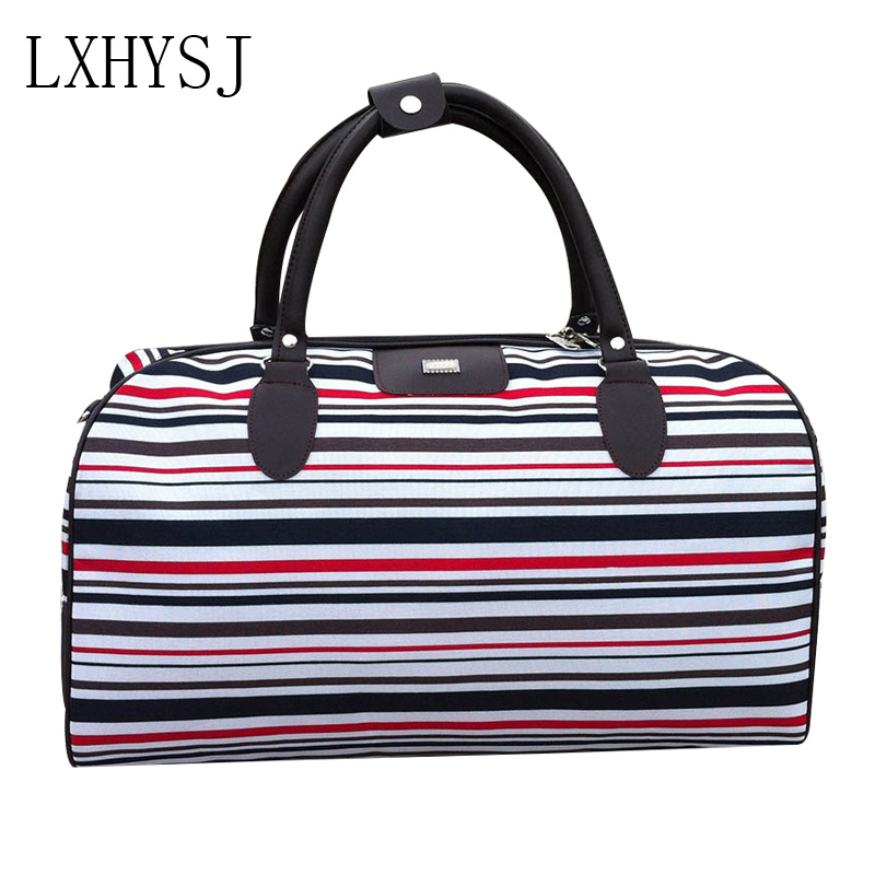 Men And Women Fashion Traveling Shoulder Bag Large Capacity Travel Bags Organizer Clothes Storage Hand Luggage Bag