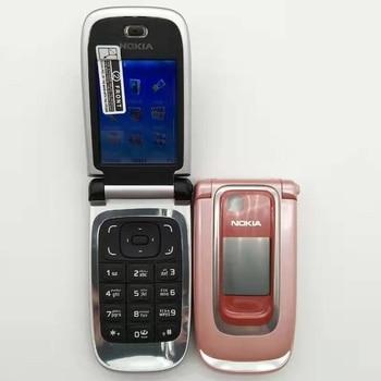 Unlocked 6131 Original Mobile phone Nokia 6131 Cheap GSM Camera FM Bluetooth Good Quality Phone Free shipping