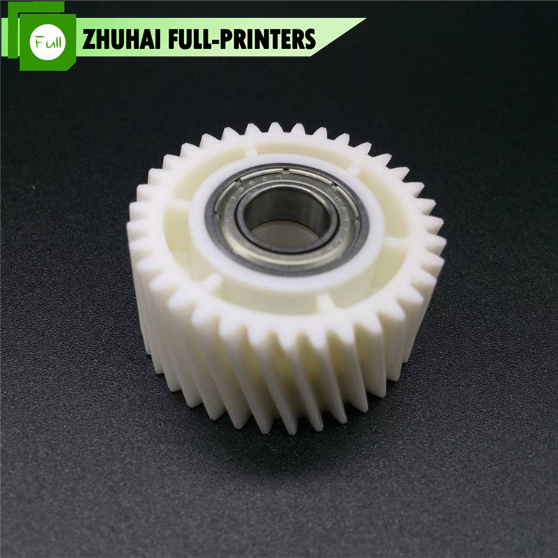 2X New Original AB01-1505 AB011505 Registration Roller <font><b>Motor</b></font> Gear For for Ricoh Pro <font><b>1107</b></font> 1357 907 MP1100 MP1350 MP9000 image