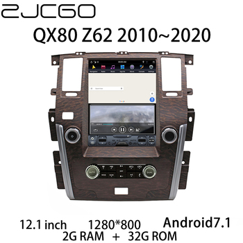 Car Multimedia Player Stereo GPS DVD Radio Navigation NAVI Android Screen for Infiniti QX80 Z62 2010~2020 image