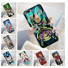 dragon ball super broly movie Coque Shell Phone Case for oppo r11 r11s plus r15 r17 r17pro case(China)