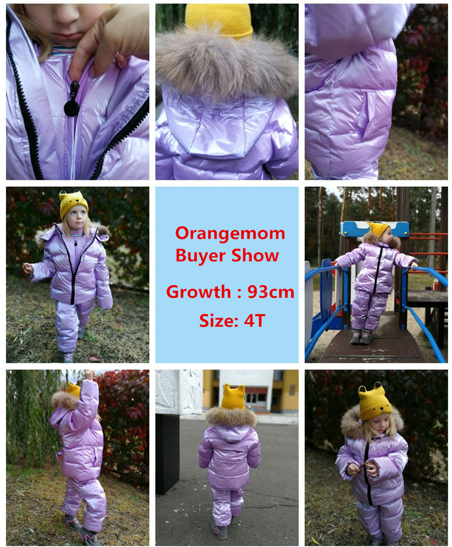 Image 5 - Orangemom brand jacket for girls coat 2 8 years Children's clothing for boys outerwear cute red snowsuit kids winter clothes-in Down & Parkas from Mother & Kids
