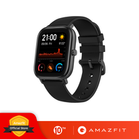 Глобальная версия, новые Смарт-часы Amazfit GTS, 5ATM, водонепроницаемые, для плавания, умные часы, 14 дней, батарейка, управление музыкой для телефон...