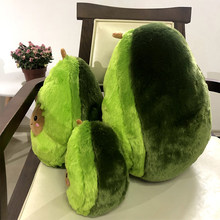 20-30-40CM Cute Avocado Stuffed Plush Toy Filled Doll Cushion Pillow Child Child Christmas Gift Girl Baby Girl(China)