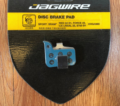 Level Ult SRAM Red//Force//Rival 22 Jagwire Sport Organic Disc Brake Pads CX1