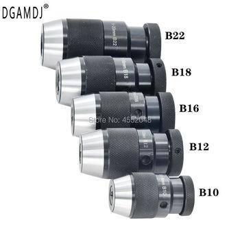 B10 B12 B16 B18 B22 chuck collet JT6 Self Tighten Keyless Drill Chuck for drilling machine Taper For Power