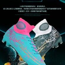 Socks Football-Shoes Brand R.xjian Men High-Top Non-Slip Tf/fg Men's Size33-47-