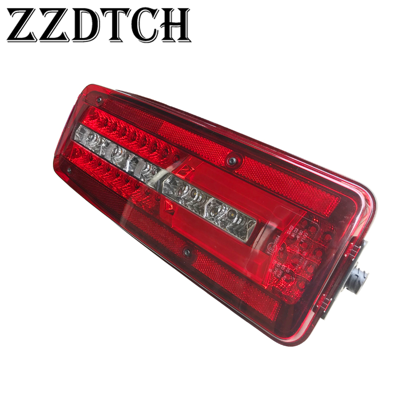 ZZDTCH 2PCS 24V Led Tail Lamp Used For  MAN Truck Tail Lamp