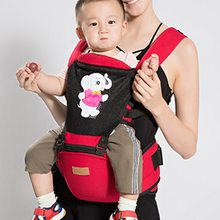 CYSINCOS Baby Kids Shoulders Carry 2 In 1 Printing Cotton Carrier Hip Seat Infant Backpack Newborn Kangaroo Suspender Sling Wrap(China)