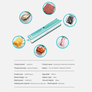 Image 4 - 2020 New Vacuum Sealer For Domestic Kitchens,  Add 10 Vacuum Bags,  Household Food Packaging Machine