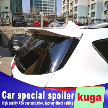 цена на new streamline style 2013 2014 2015 2016 2017 for ford Escape kuga ST rear window rear wing spoiler by ABS material primer color