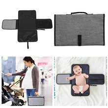 New 3 in 1 Waterproof Changing Pad Diaper Travel Multifunction Portable Baby Cover Mat Clean Hand Folding Bag
