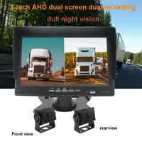 7 inch HD Car Reverse Monitor Truck Night Vision Camera LCD Display For Bus Car Parking System Accessories #PY15